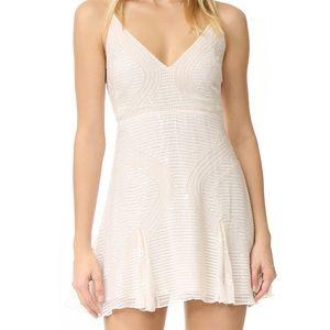 NWT Free People Sparklette Mini Dress